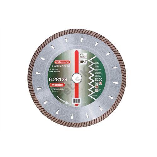 Metabo gyémánt vágókorong 150x2.2x22.23mm, professional, UP-T, Turbo, univerzális