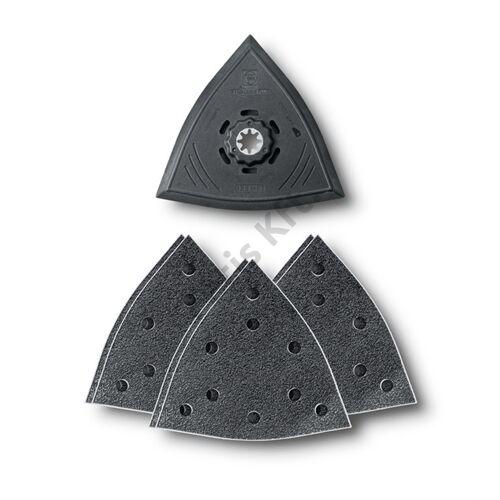 Fein csiszolótalp 130 mm + 2xP60/P80/P180 csiszolópapír