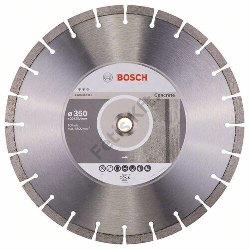Bosch vágókorong, gyémánt 350mm beton