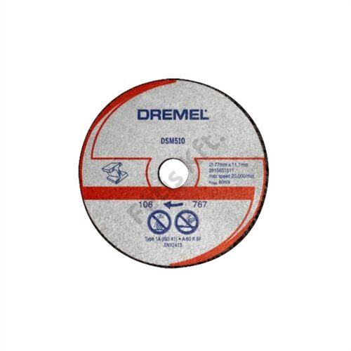 Dremel DSM20 fém és műanyag vágókorong (DSM510)