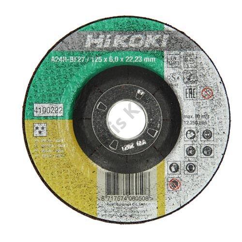 Hitachi-Hikoki csiszolókorong 115x6.0x22.2mm fém