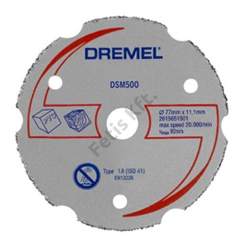 Dremel DSM20 többcélú karbid vágókorong (DSM500)