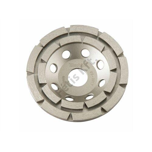 Makita D-62315 betoncsiszolókorong 115mm szegm: 8.7 f: 22.23