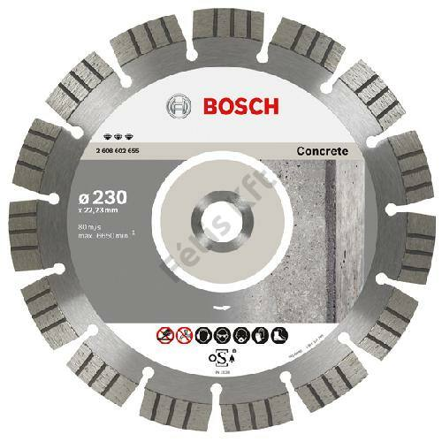 Bosch vágókorong, gyémánt 125  BFC beton