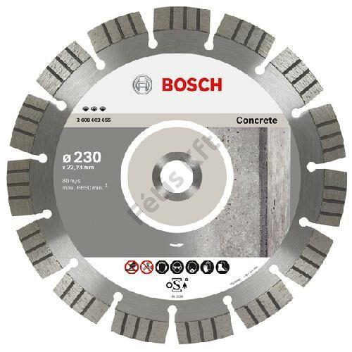 Bosch vágókorong, gyémánt 230mm beton