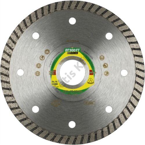 Klingspor gyémánt vágókorong 115x1.4x22.23mm P DT 900 FT GRT=Turbó folyamatos