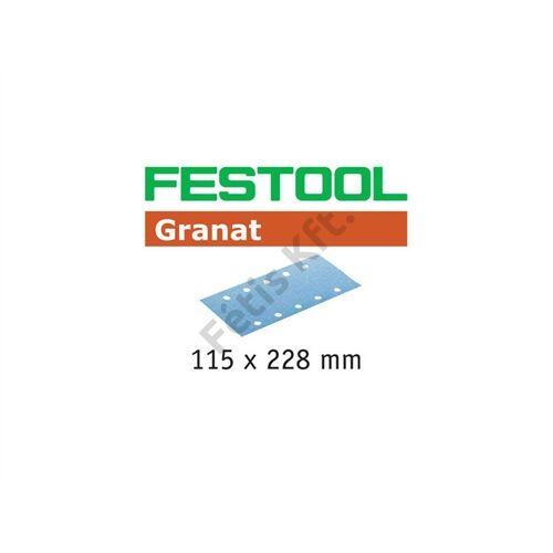 Festool csiszolócsíkok Granat STF 115X228 P400 GR/100 (100db/csomag)
