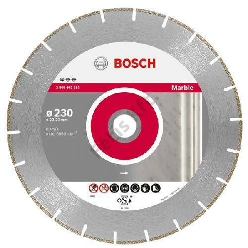Bosch vágókorong, gyémánt 230 HPP mészkő-márvány