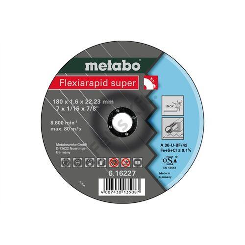 Metabo vágókorong Flexiarapid super 180x1.6x22.23 Inox, TF 42