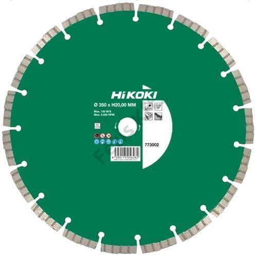 Hitachi-Hikoki gyémánt vágókorong 350x25.4x11.5mm