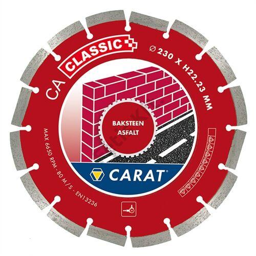 Carat gyémánt vágókorong 115x22.23mm aszfalt
