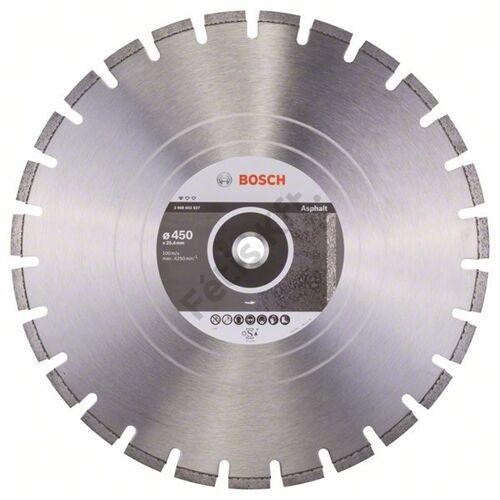 Bosch vágókorong, gyémánt 450mm