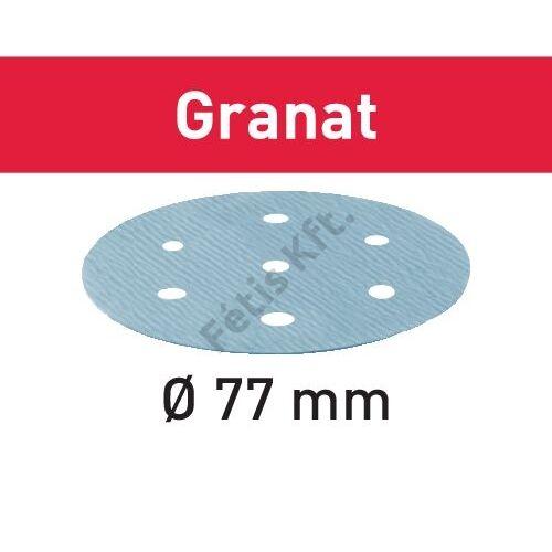 Festool csiszolópapír Granat STF D 77/6 P800 GR/50 (50db/karton)