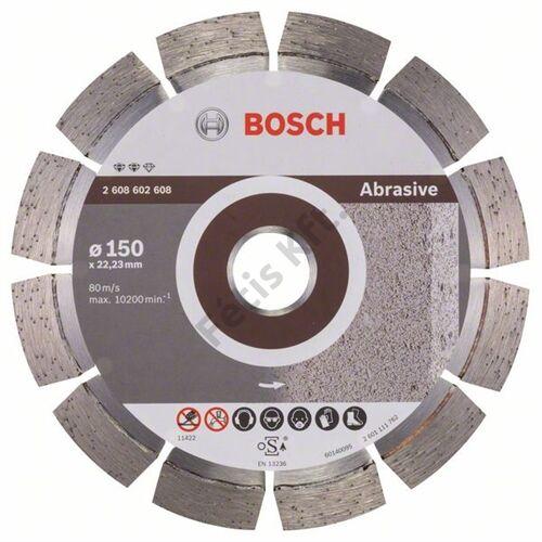 Bosch vágókorong, gyémánt 150 EXPE FOR ABRASIVE