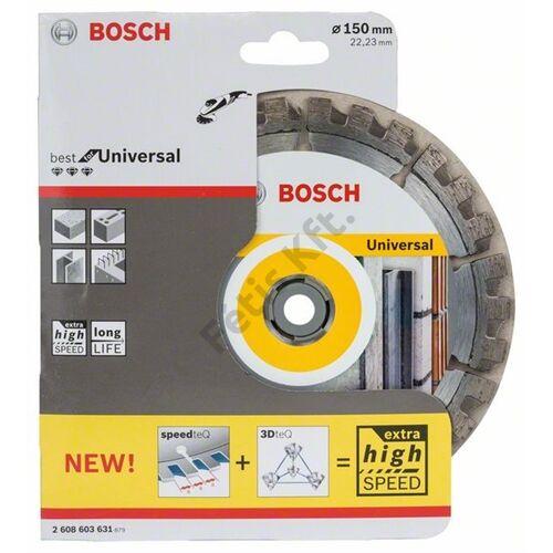 Bosch vágókorong, gyémánt 150 best for universal