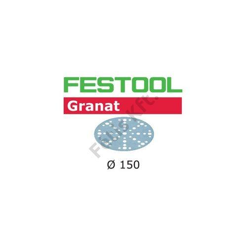 Festool csiszolópapír Granat STF D150/48 P60 GR/10 (10db/csomag)