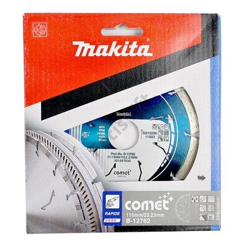 Makita 115mm gyémánt vágókorong COMET 3DDG szegmentált