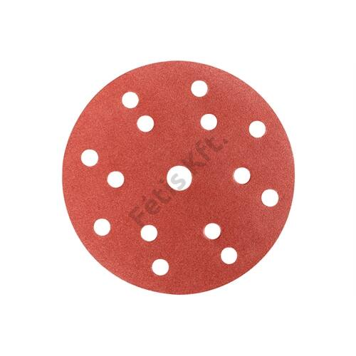 Metabo tépőzáras csiszolólap 150 mm P120, fa+fém, többszörös lyukasztással 50 db