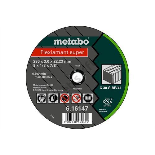 Metabo vágókorong Flexiamant super 180x3.0x22.23 kő, TF 41