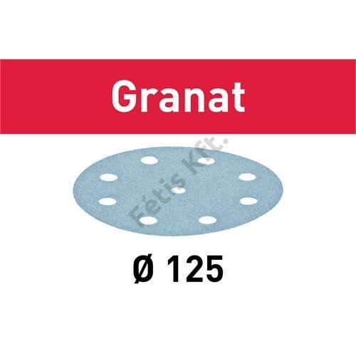 Festool csiszolópapír Granat STF D125/90 P120 (10db/csomag)