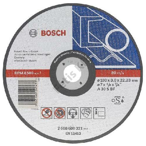 Bosch vágókorong 125x22.23x2.5mm egyenes