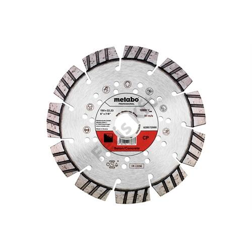 Metabo gyémánt vágókorong 150x22.23mm CP