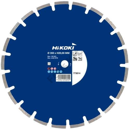 Hitachi-Hikoki gyémánt vágókorong 300x25.4x10mm