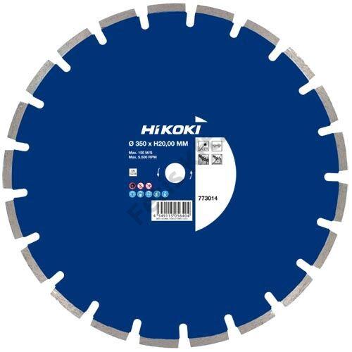 Hitachi-Hikoki gyémánt vágókorong 350x20x10mm