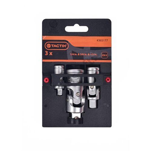 Tactix csukló készlet 1/4''-3/8''-1/2'' 3 részes