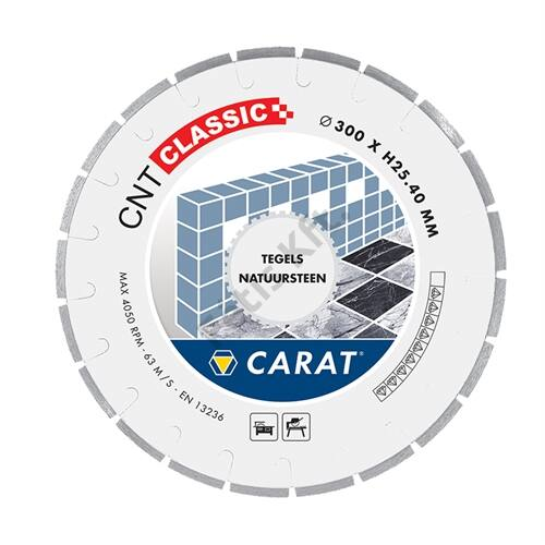 Carat gyémánt vágókorong 300x25.40mm kő