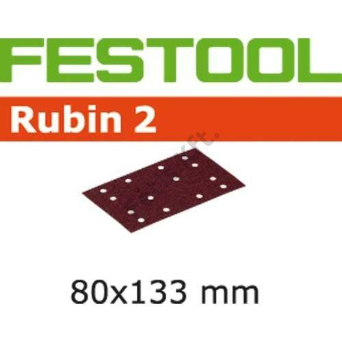 Festool Csiszolócsíkok STF 80X133 P80 RU2/50