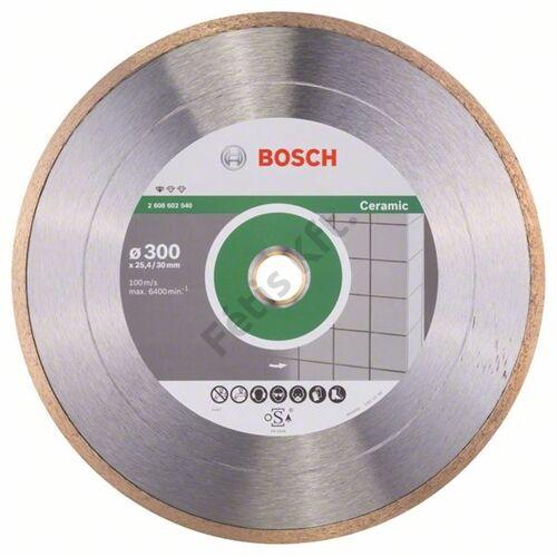 Bosch vágókorong, gyémánt 300x30x25.4