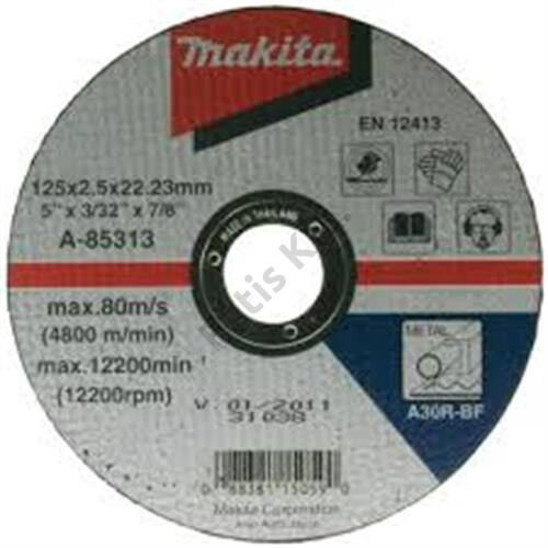 Makita A-85313 vágókorong 125x2.5 mm