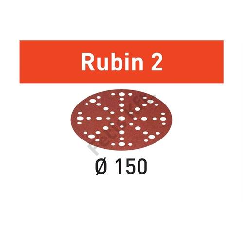 Festool csiszolópapír Rubin2 STF D150/48 P80 RU2/10 (10db/karton)
