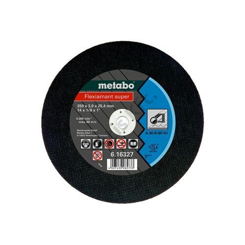 Metabo vágókorong Flexiamant super 350x3.0x25.4 acél, TF 41