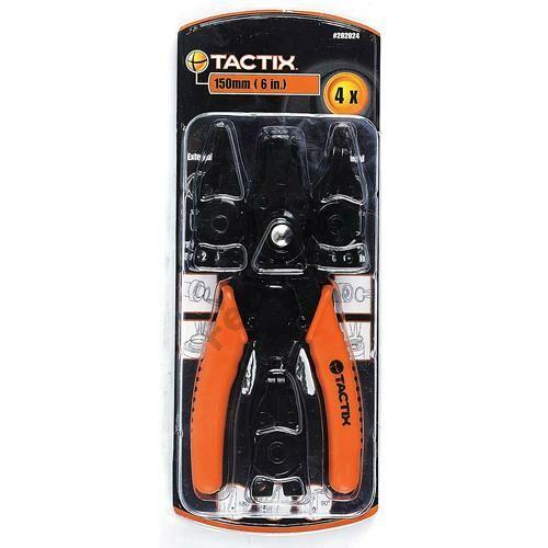 Tactix seegerfogó készlet 4 részes cserélhető fejes