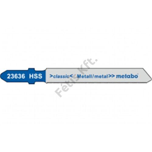 Metabo szúrófűrészlap T118A HSS 50x1mm/1.2 (5db)