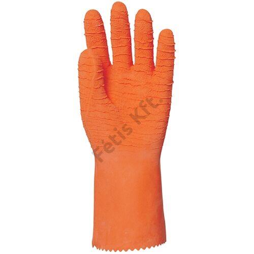 Mártott narancs krepp latex érdes vegyszerálló 32cm 8