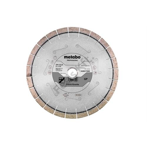 Metabo gyémánt vágókorong 230x22.23mm GP