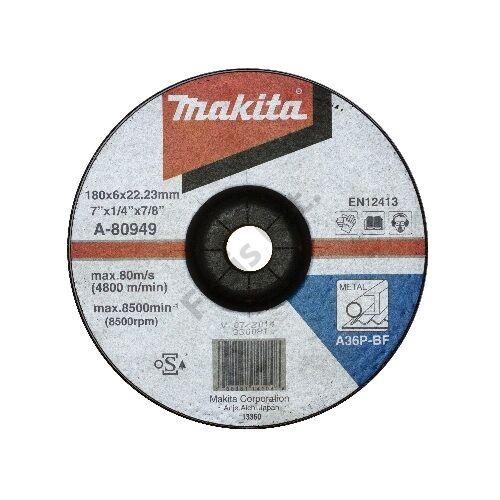Makita csiszolókorong acél 180x6mm