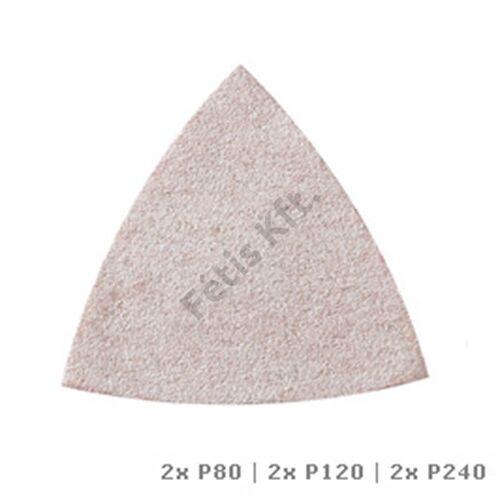 Dremel Multi-Max Csiszolópapír festékhez (80-as, 120-as és 240-es szemcseméret) (MM70P)