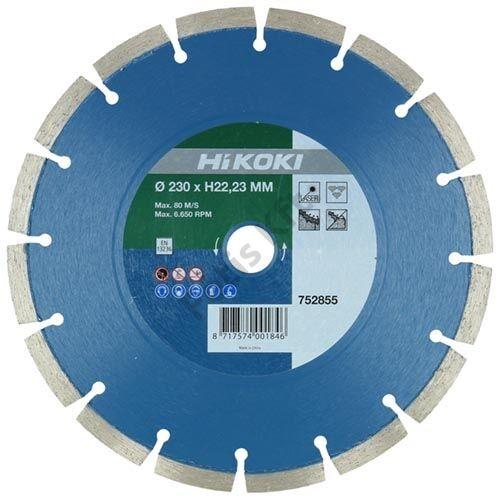 Hitachi-Hikoki gyémánt vágókorong 125x22.23mm beton