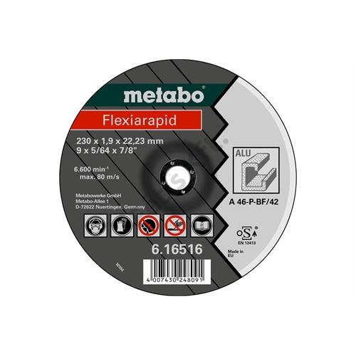 Metabo vágókorong Flexiarapid 150 x 1.6 x 22.23 mm, alumínium, TF 41