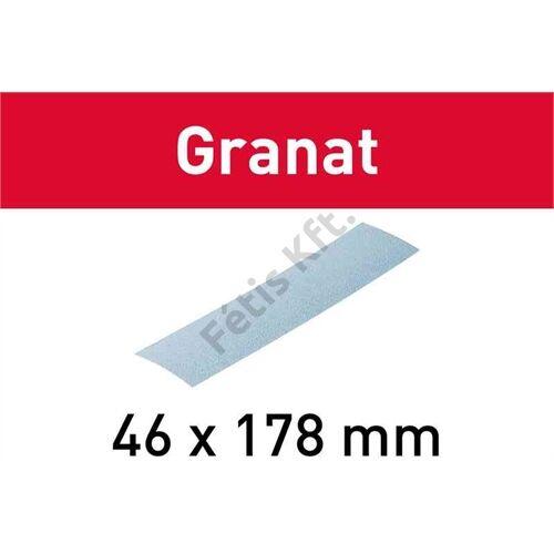 Festool csiszolólap Granat STF 46x178 P120 (10db/csomag)