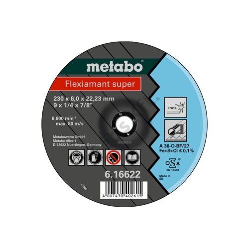 Metabo csiszolókorong Flexiamant super 100x6.0x16.0 Inox, SF 27