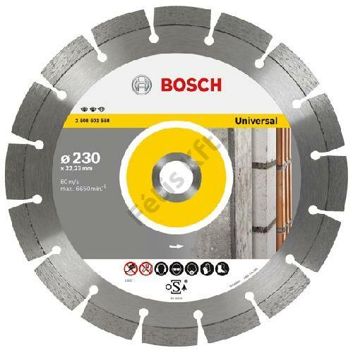 Bosch vágókorong, gyémánt 125 EFU építőanyag
