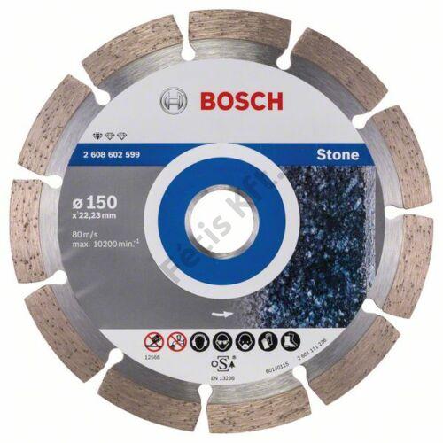Bosch vágókorong, gyémánt 150mm kő