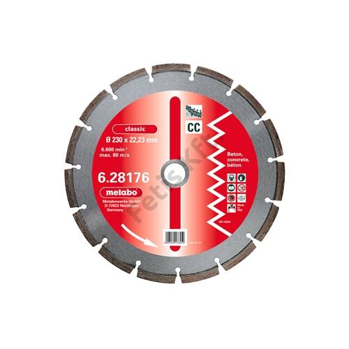 Metabo gyémánt vágókorong 125x2.15x22.23mm, classic, CC, beton