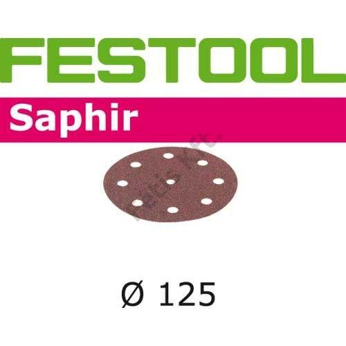 Festool csiszolópapír Saphir STF D125/8 P24 SA/25 (25db/csomag)