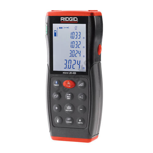 Ridgid micro LM-400 lézeres távolságmérő